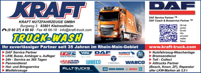 Anzeige Kraft Nutzfahrzeuge GmbH