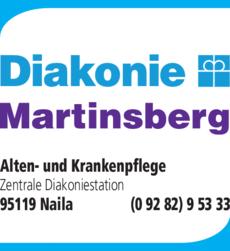 Anzeige Diakonie Alten- und Krankenpflege