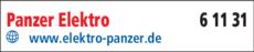 Anzeige Panzer Elektro