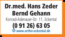 Anzeige Zeder Hans Dr.