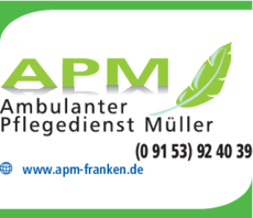 Anzeige Ambulanter Pflegedienst Müller