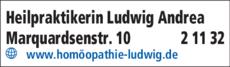 Anzeige Heilpraktikerin Ludwig Andrea