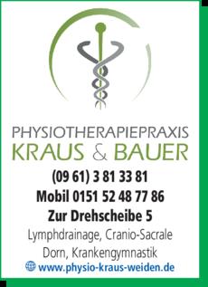 Anzeige Krankengymnastik im Therapie- und Trainingszentrum Kraus Thomas