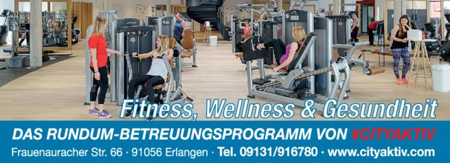 Anzeige Wellness City aktiv