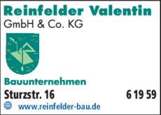 Bauunternehmen Bamberg bauunternehmen reinfelder valentin gmbh in bamberg in das örtliche
