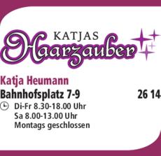 Anzeige Katjas Haarzauber