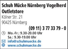 7d541eff61409b Schuh Mücke GmbH in Nürnberg ⇒ in Das Örtliche