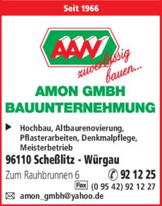 Bauunternehmen Bamberg amon gmbh bauunternehmen in scheßlitz in das örtliche