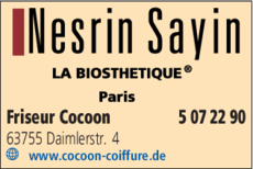 Friseur Cocoon Nesrin Sayin In Alzenau In Das örtliche