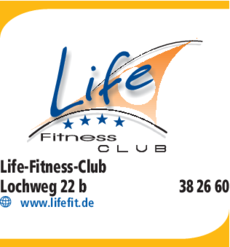 Anzeige Fitness Life-Fitness-Club