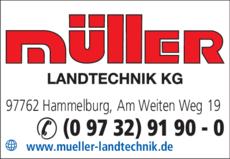 Anzeige Müller Landtechnik KG