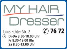 Anzeige Friseur My Hair Dresser