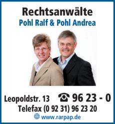 Anzeige Rechtsanwälte Pohl Ralf