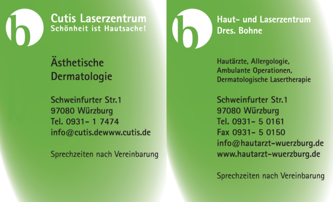 Anzeige Cutis Laserzentrum Würzburg GmbH