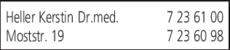 Anzeige Heller Kerstin Dr.med.