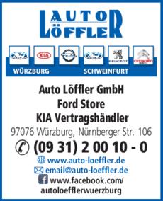 Auto Löffler Gmbh In Würzburg In Das örtliche