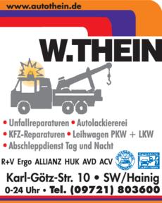 Anzeige Auto Thein W.
