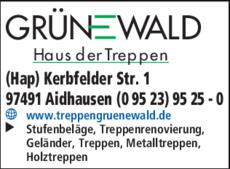 Anzeige Grünewald Treppen