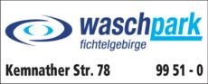 Anzeige Waschpark Fichtelgebirge
