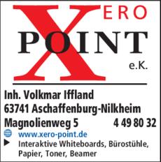 Anzeige XERO POINT e.K.