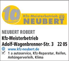 Anzeige 1 a-autoservice Neubert