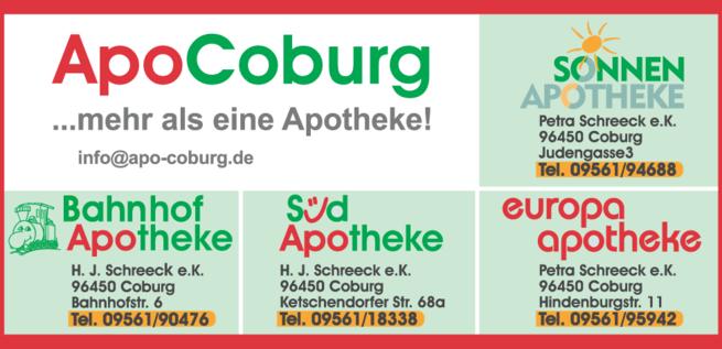 Anzeige App Coburg