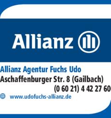 Anzeige Allianz Agentur Fuchs Udo