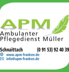 Anzeige Ambulanter Pflegedienst APM Müller