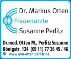 Anzeige Otten Markus Dr., Perlitz Susanne