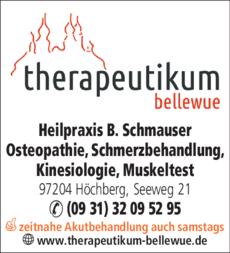 Anzeige Osteopathie Würzburg Beate Schmauser