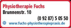 Anzeige Krankengymnastik Fuchs