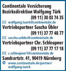 Continentale Versicherung In Nurnberg In Das Ortliche