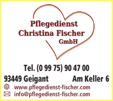 Anzeige Ambulanter Pflegedienst Fischer Christina