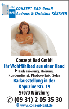 Badausstellung Würzburg köstner conzept bad gmbh in würzburg in das örtliche