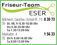 Anzeige friseur-team ESER