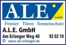Anzeige A.L.E. GmbH