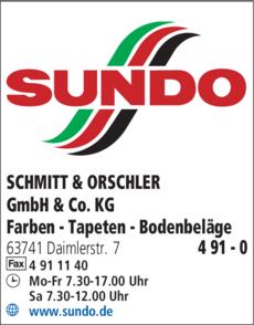 Anzeige SCHMITT & ORSCHLER GmbH & Co. KG