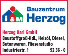 Anzeige Herzog Karl GmbH