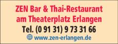 Anzeige ZEN Thai-Restaurant + Bar
