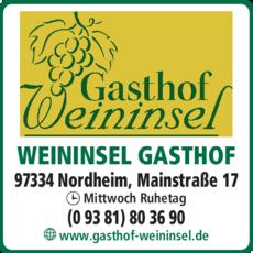 Anzeige Weininsel Gasthof