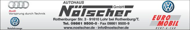 Anzeige VW Nölscher Autohaus GmbH