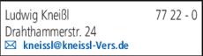 Anzeige Kneißl Ludwig