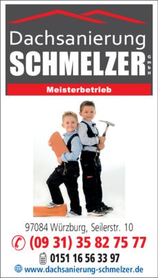 Anzeige Schmelzer Dachsanierung Ihr Zimmermannsmeisterbetrieb