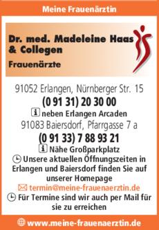 Anzeige Haas Madeleine