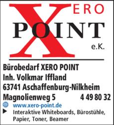 Anzeige Bürobedarf XERO POINT e.K.