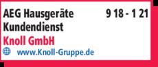 Aeg Hausgerate Kundendienst Knoll Gmbh In Bayreuth In Das Ortliche