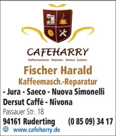 Anzeige Fischer Harald
