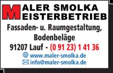 Anzeige Smolka Malermeister