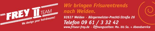 Anzeige Friseur Frey II Team