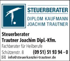 Anzeige Steuerberater Trautner Joachim Dipl.-Kfm.